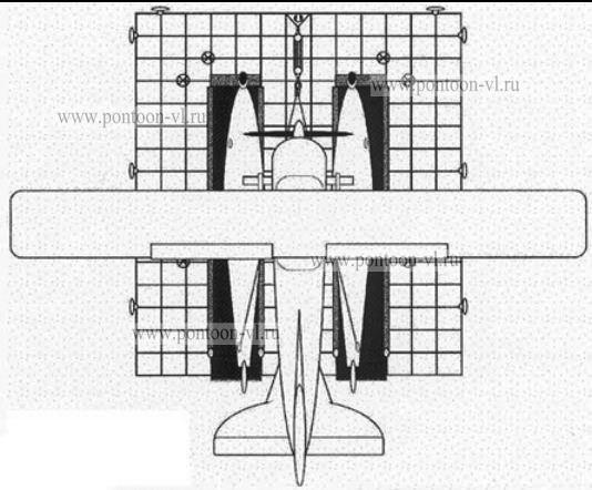 понтоны для трубопровода